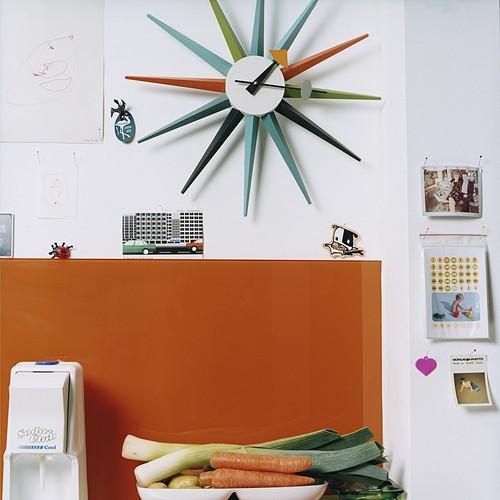 Sunburst Clock(サンバースト クロック)George Nelson(ジョージ・ネルソン) Vitra(ヴィトラ)