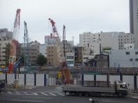 タワーマンション建築現場