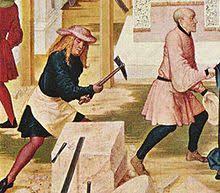 中世の石工