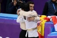 羽生選手とハビエル・フェルナンデス