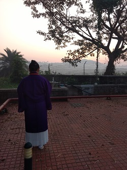 朝の祈り1