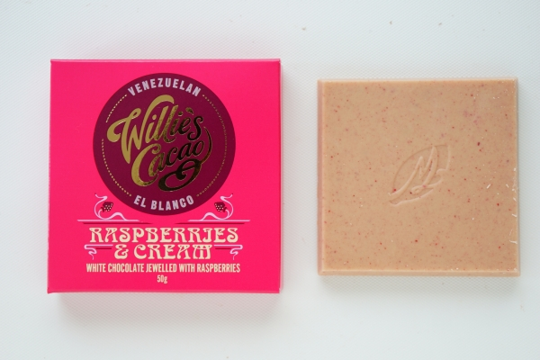【Willie's Cacao】RASPBERRIES & CREAM