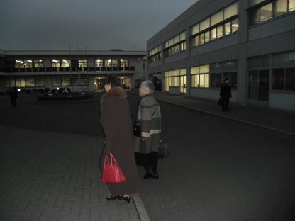 2 夕方学園の研修寮に到着