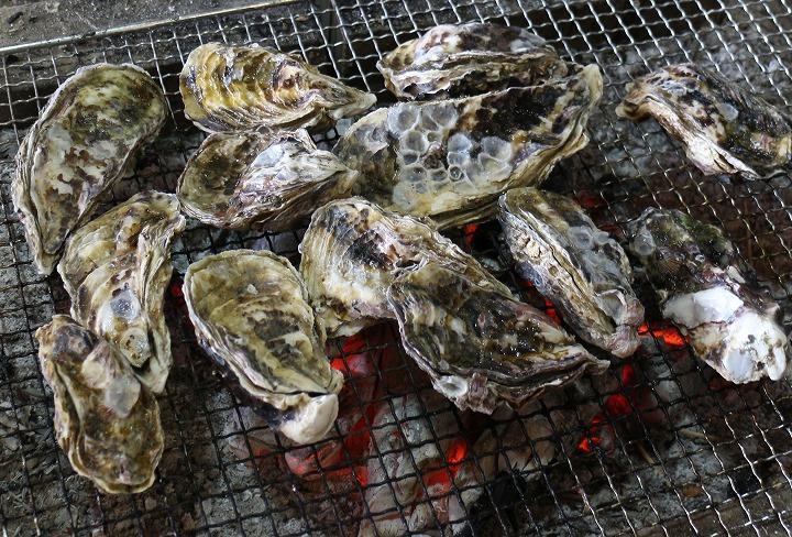 牡蠣焼き 30 1 4