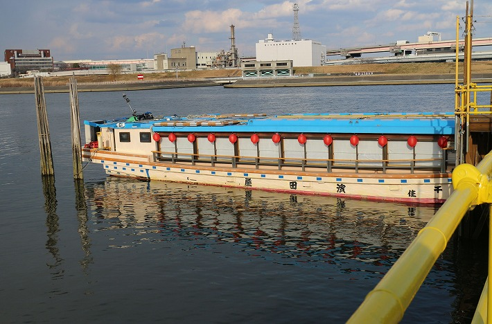 浅草から 桜橋乗船所 30 2 4