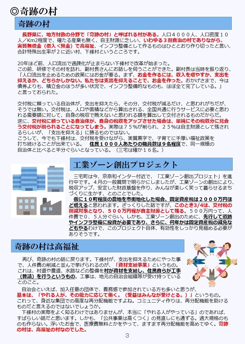 活動報告(xx)3P3