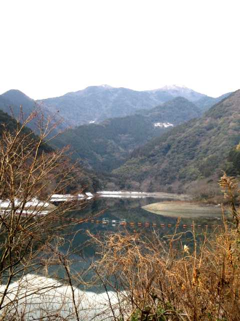 IMG3982JPGダムから福智山を望む
