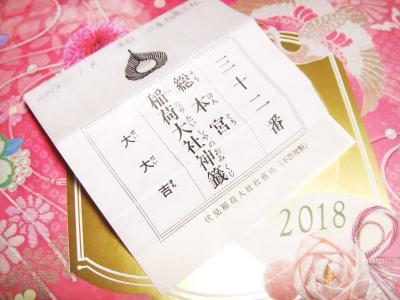 20180101 伏見稲荷大社 おみくじ