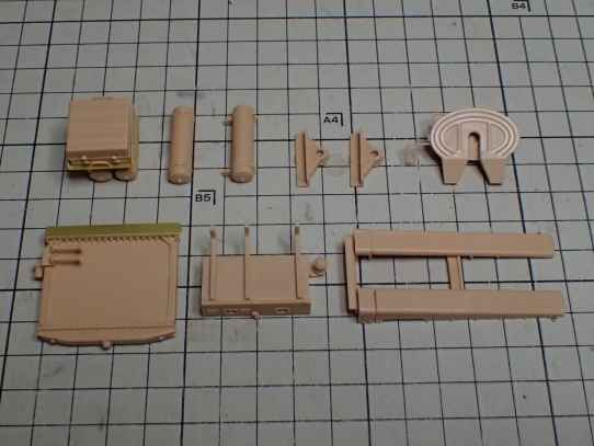 M1070&M1000重装備運搬車 パーツ製作