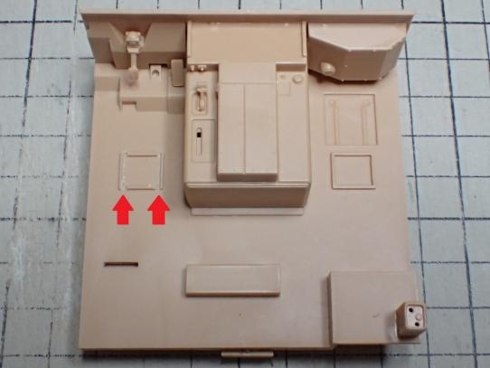 M1070&M1000重装備運搬車 床板加工