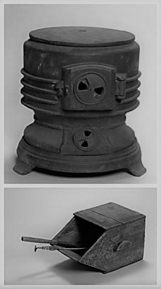 石炭ストーブと箱3