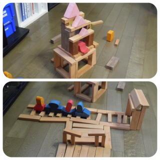 積み木作業2