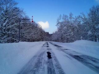 道道の雪化粧2