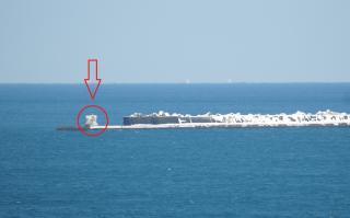 西防波堤簡易灯台