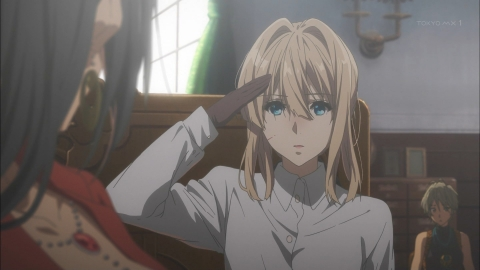 ヴァイオレット・エヴァーガーデン 第2話 「戻って来ない」 アニメ実況 感想 画像