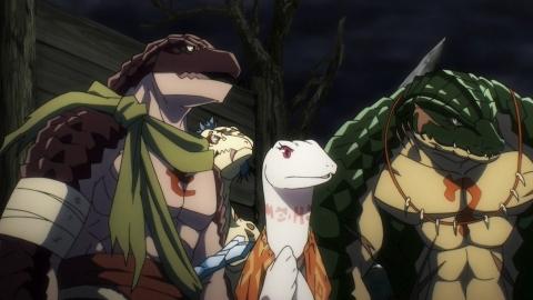 オーバーロードII 第4話 死の軍勢 Army of Death アニメ実況 感想 画像