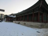 ソウル 雪景色 2017-12