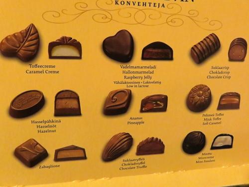 フィンランド Panda チョコボックス