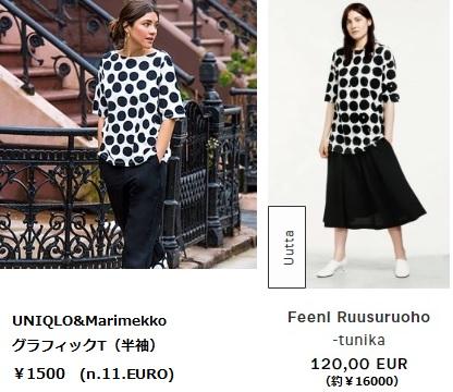 UNIQLO Marimekko シャツ ユニクロ マリメッコ