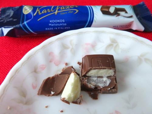 フィンランド Fazer 新製品 チョコ ココナッツ