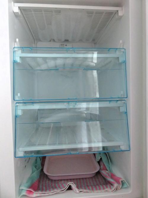 フィンランド 冬の恒例行事 冷凍庫の霜取り