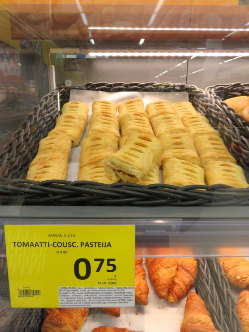Tomaati Cuscus pasteija フィンランド パイ