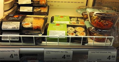 フィンランド スーパー 寿司 賞味期限長い