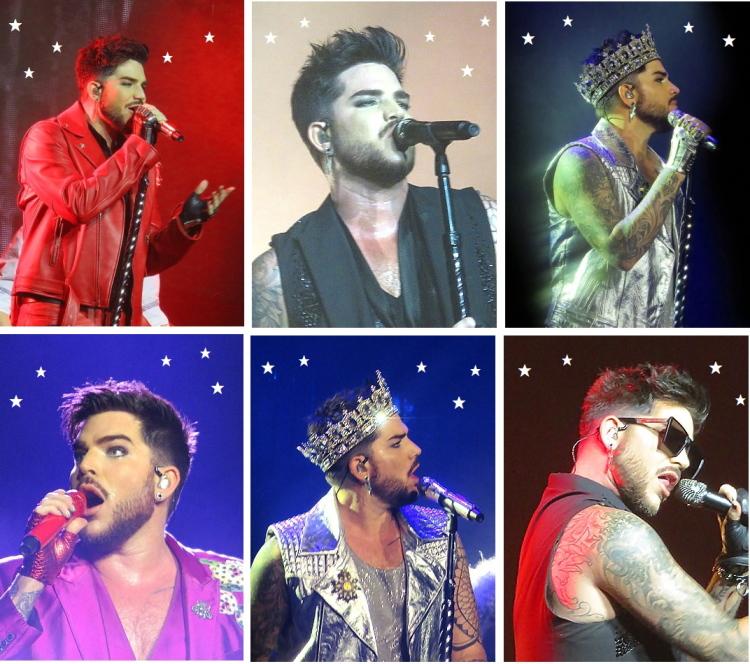 Adam Lambert QAL Helsinki Stockholm