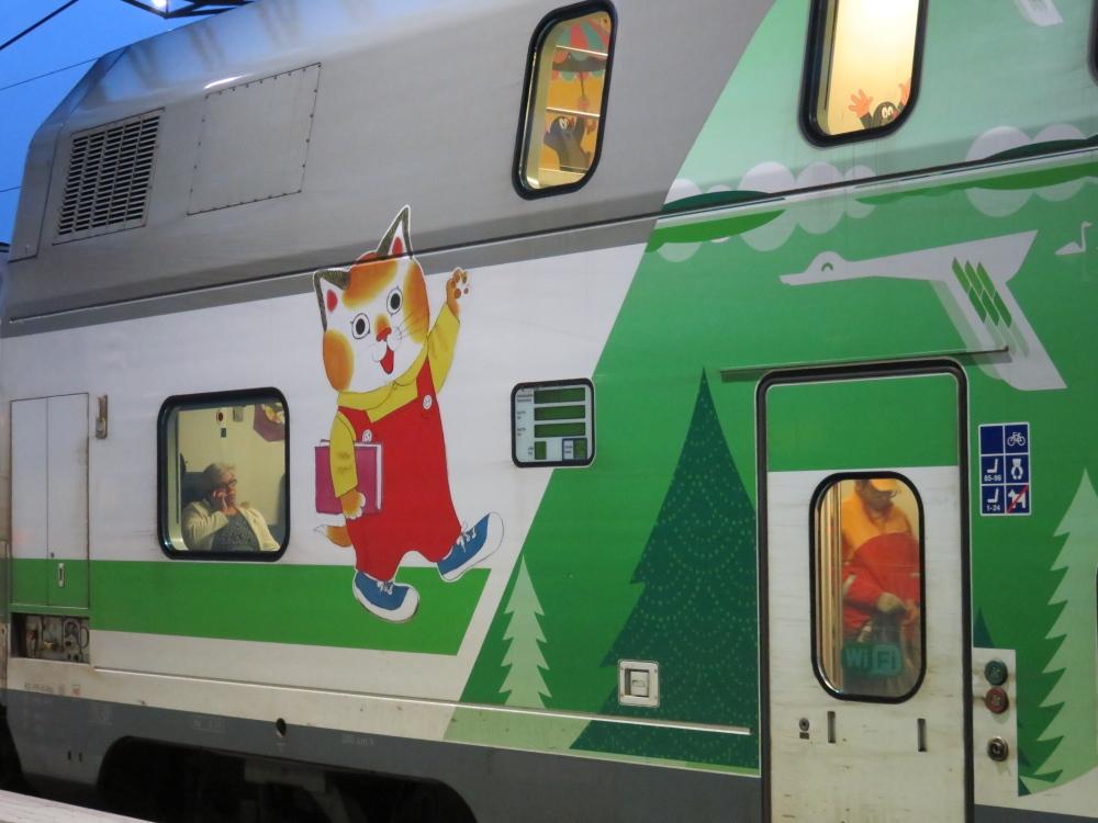 フィンランド VR 列車 Juna