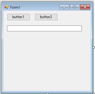 Form1の配置