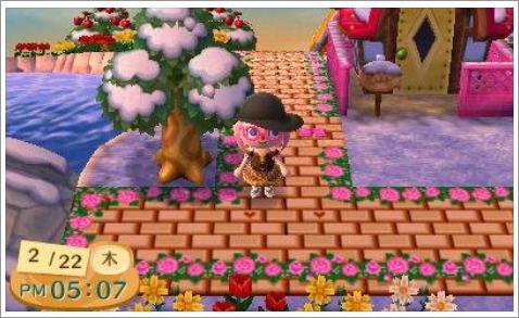 レンガと薔薇の使用例