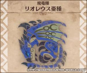 リオレウス亜種 【MHW】モンスターハンターワールド