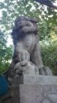 戸越八幡神社狛犬