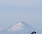 年明け富士山