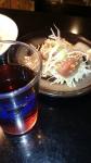 カツオ広東風と紹興酒