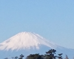 2018年1月中旬富士山