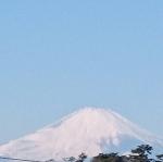 2018年1月降雪後富士山2