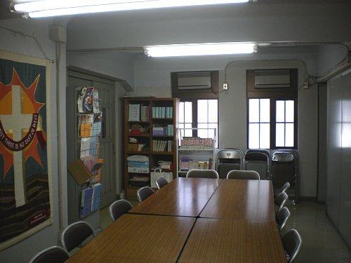 指路教会・1F資料室