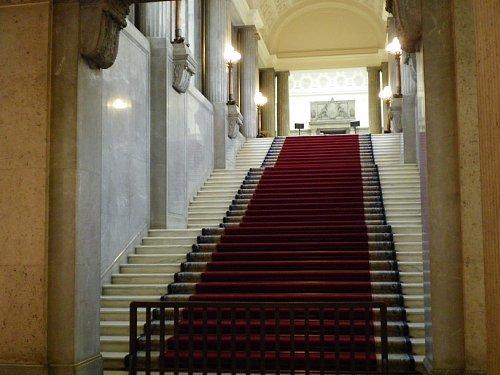 国会議事堂・中央階段1