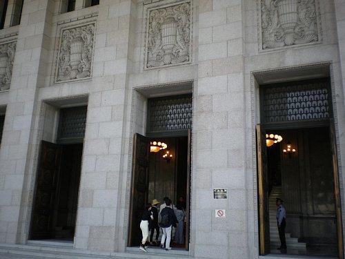 国会議事堂・中央玄関