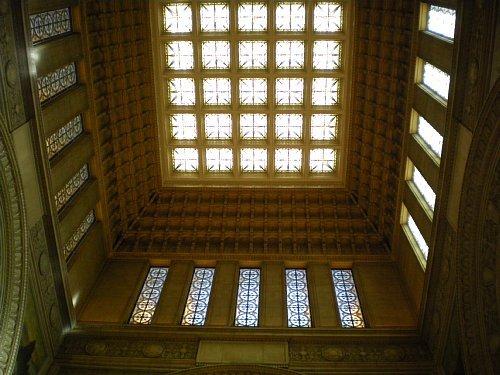 国会議事堂・中央広間天井
