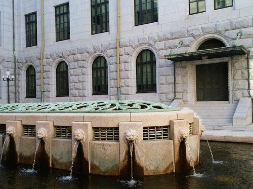 国会議事堂・中庭