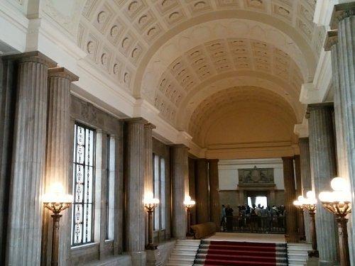 国会議事堂・中央階段2