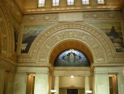 国会議事堂・中央広間壁画