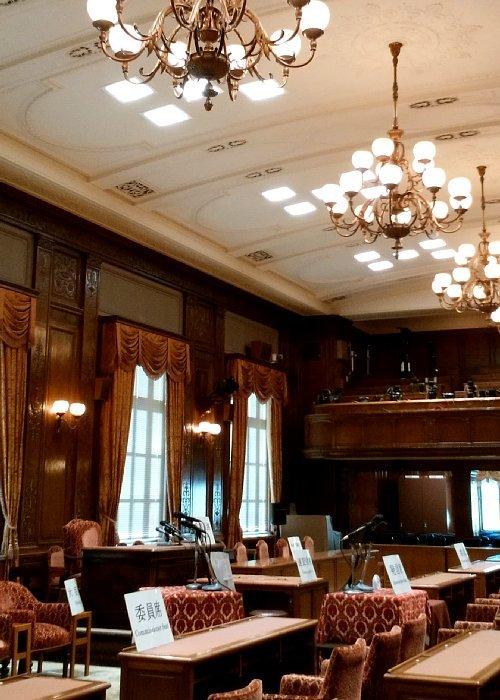 衆議院・第一委員会室1