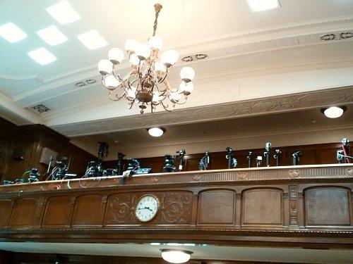 衆議院・第一委員会室報道席