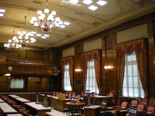 参議院・第一委員会室