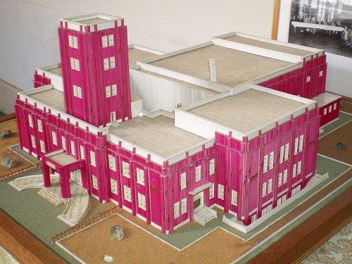 岩手県公会堂・模型