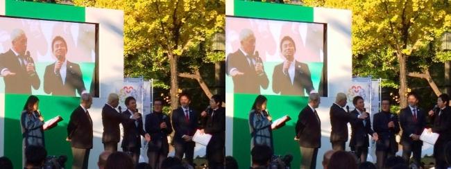 「御堂筋ランウェイ」2025大阪万博誘致アンバサダー ダウンタウン トークショー⑥(平行法)
