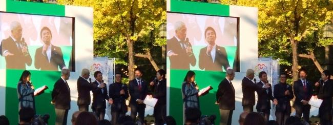 「御堂筋ランウェイ」2025大阪万博誘致アンバサダー ダウンタウン トークショー⑥(交差法)